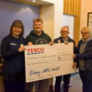 Tesco donate £2k to Erskine Reid Macewen Activity Centre for Veterans