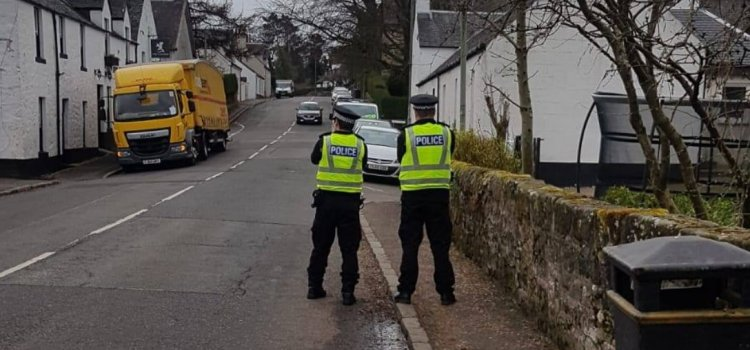 Police target law breaking drivers in Bishopton and Houston