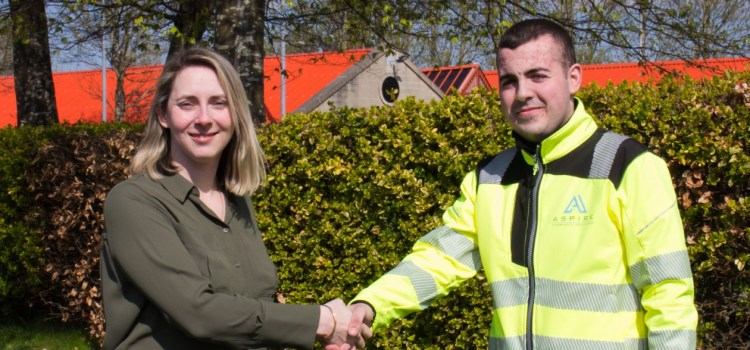 Ferguslie Park Housing Association appoint local supported business Aspire