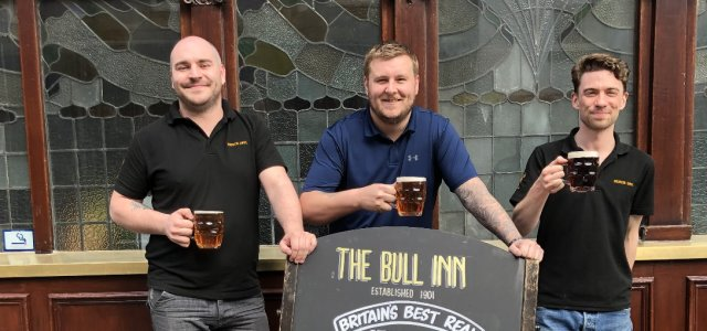 The Bull Inn scoops CAMRA's top spot for the second year running