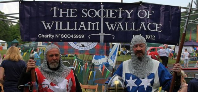 The Society of William Wallace bringing history to your doorstep