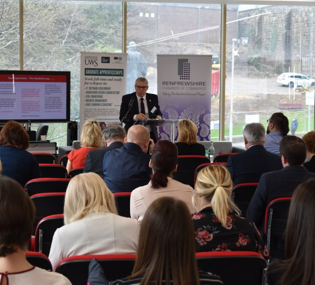 UWS shares insight into graduate apprenticeships at breakfast event