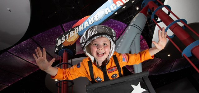 Space kids get ready for take-off to inter-galactic fun