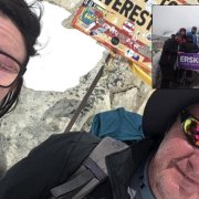 Father and Daughter conquer Base Camp Everest to help raise money for Erskine