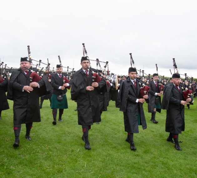 Thousands of pipers descend on Paisley for The British Pipe Band Championships