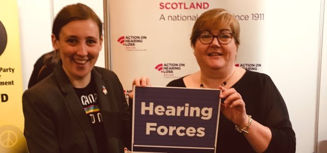 MP backs charity's appeal for volunteers to support Renfrewshire veterans with hearing loss