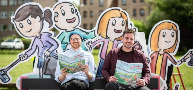 Award-winning author pens children's book for every primary pupil in Renfrewshire as part of major clean up campaign