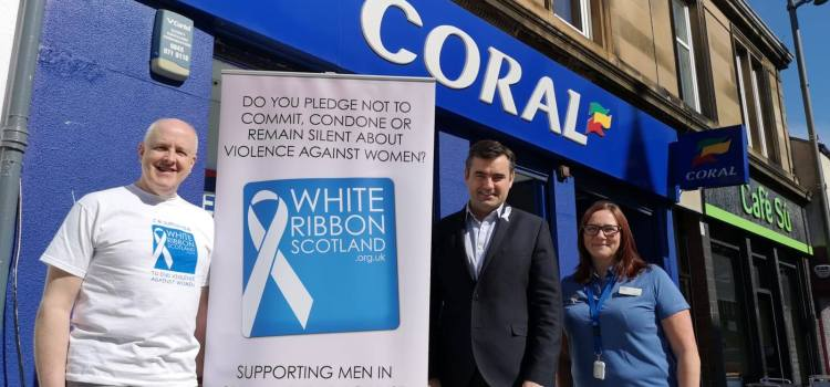 MP backs White Ribbon bookmakers training