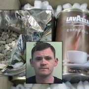 Barrhead man jailed after importing four thousand MDMA tablets in coffee tins