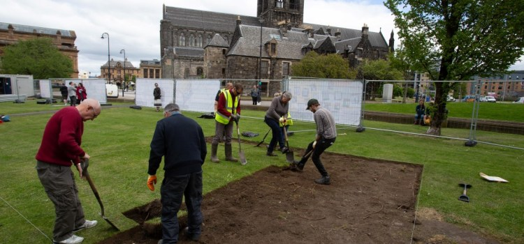 Archaeologists go underground to unearth secrets of 700 year old Paisley Abbey Drain