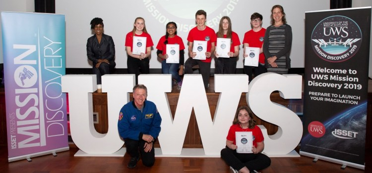Experiment by Scottish school pupils to be sent into outer space following UWS Mission Discovery event