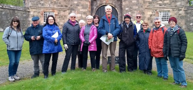 Bishopton bluebells visit by Paisley & District U3A