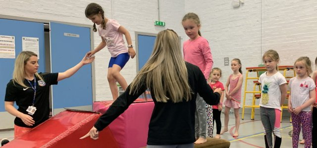Youngsters can try out dance and gymnastics at activity camps