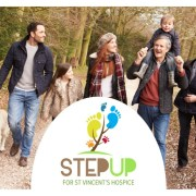 St. Vincent's Hospice cancel Step Up charity event