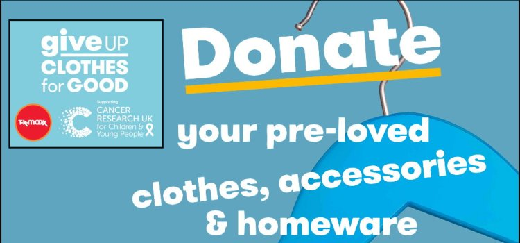 Give up clothes for good for life saving cancer research