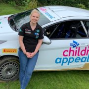 Complete Cleaning revs up for the British Rally Championship this weekend in aid of STV Children's Appeal