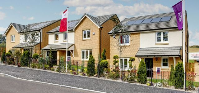 Taylor Wimpey reveals its inspiring new show home duo in Neilston