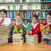 Pupils book a special celebration for their reading achievements