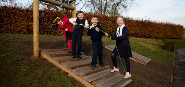 CALA Homes funds primary school playground improvements