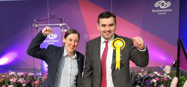 General Election 2019: Gavin Newlands and Mhairi Black re-elected in Renfrewshire
