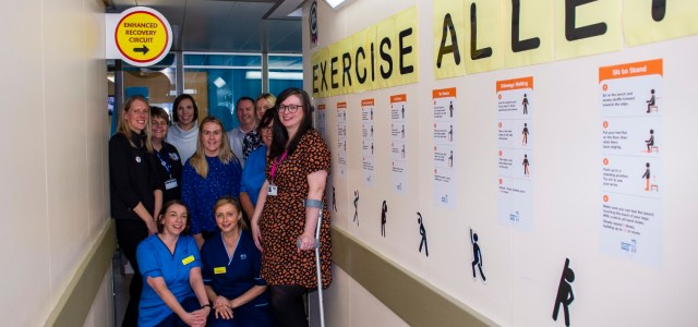 Paisley patients are on the move thanks to Exercise Alley