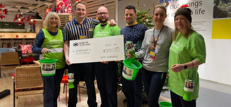 IKEA staff hands-on help for children's charity