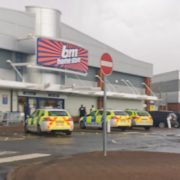 Woman arrested after an alleged assault outside a B&M store