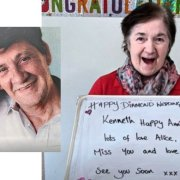 Asda Linwood pull out the stops to help Ken and Alice celebrate their 60th wedding anniversary