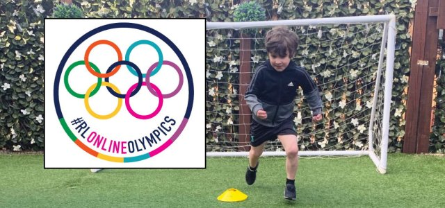 Pupils can take part in fun online version of Olympic Games