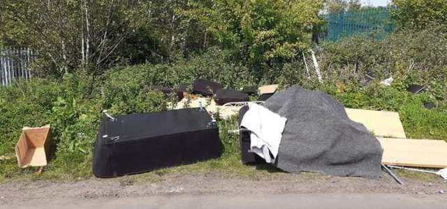 Fines issued as Team Up to Clean Up volunteers catch fly tippers in the act
