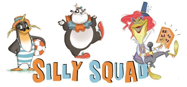 Book in with the Silly Squad this summer – fun for ages 4 to 11 years-old