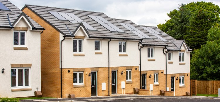 New homes for social renting in Neilson are almost complete