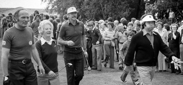 New film captures the day celebs were tee-ed up to play Renfrew Golf Club