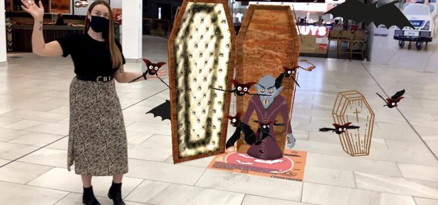 Spooky goings-on at intu Braehead thanks to hi-tech wizardry