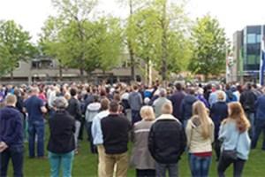 Dodenherdenking @ Hervormde Kerk/ Europaplein | Renkum | Gelderland | Nederland