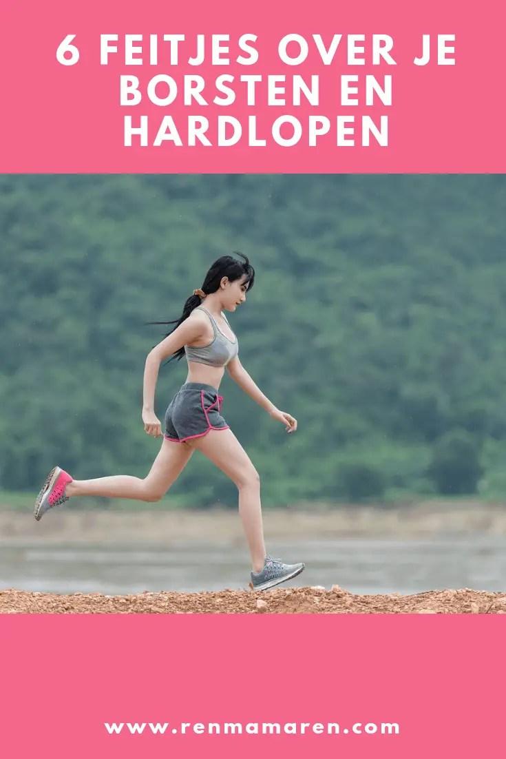 6 feitjes over je borsten en hardlopen