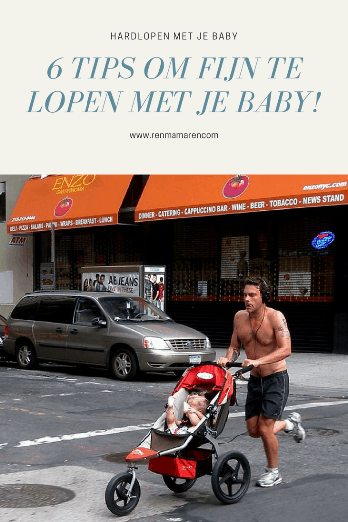 Hardlopen met je baby: 6 tips en tricks