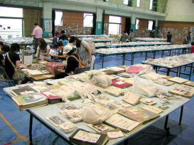 Les habitants ont collecté des souvenirs, photos et documents rappelant les différents quartiers avant leur destruction.
