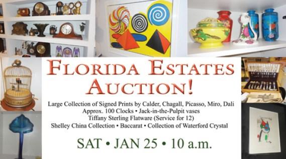 Floria Estates Auction