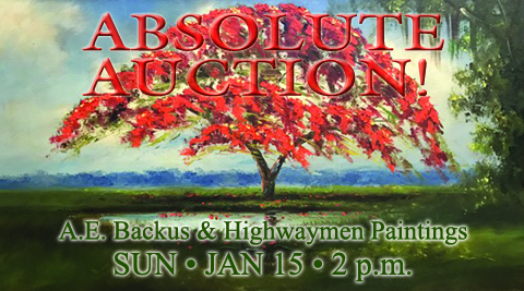 A.E. Backus & Highwaymen Auction