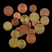 Münzen per Scanografie aufgenommen
