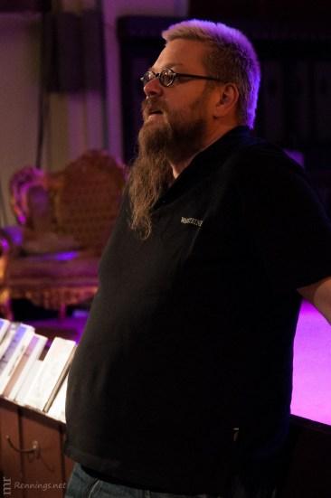 Der Moderator des Abends: Michael Meyer