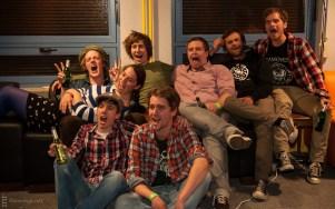 »Familienfoto mit Dame« (Matthias Lüke fehlt leider)