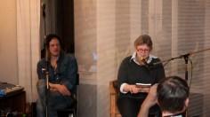 Edy Edwards & Brigitte Vollenberg, Wohnzimmerlesung, 20.4.2013,