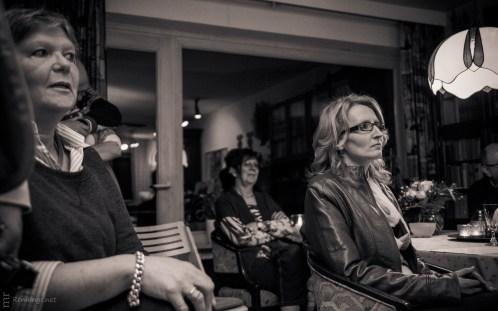 Brigitte Vollenberg (links) & Britt Glaser (rechts), Wohnzimmerl