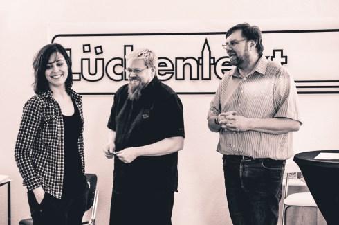 Lückentext__Show: Sandra Da Vina, Michael Meyer, Carsten Koch