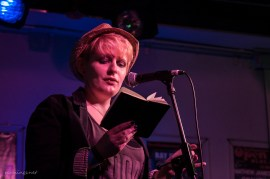 Anna Conni, Poetry Slam, C@fe-42, 6.9.13
