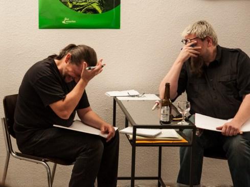 Rainer Wüst, Michael Meyer, 30.9.2013, Lückentext__Show