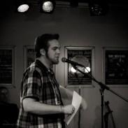Tobias Reinartz, 8.11.2013, CaféSATZ Poetry Slam, C@fe-42