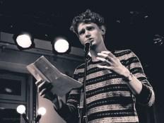 Erik Leichter, 8.11.2013, CaféSATZ Poetry Slam, C@fe-42